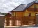 Křídlová vjezdová brána Krnov