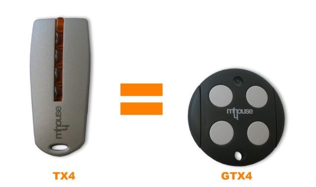 Mhouse GTX4 a ovládač TX4